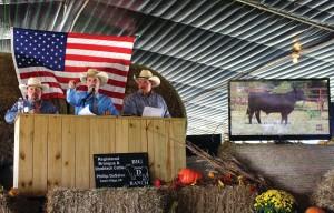 Big D Ranch 2017 Sale Wes Martin, Col. Luke Mobley & Phillip DeSalvo