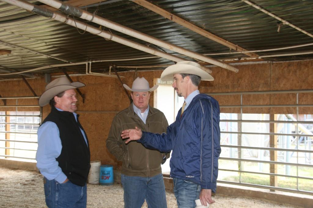 Steve Sellers, Jimmy Fetner & Luke Mobley
