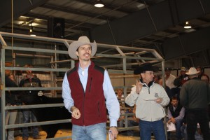 Luke Mobley, David Gazda and Shirley Myers at the Georgia Beef Expo 2011