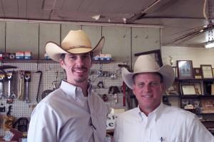 Luke Mobley & Doak Lambert @ Compton Charolais Sale in Alabama 2010
