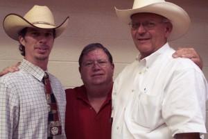 Luke Mobley, Wayne Bennett & Floyd Wampler At a Charolais Sale in Cullman, AL