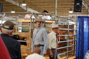 Luke Mobley & Legendary Shirley Myers @ Perry, GA Commercial Heifer Sale 2010