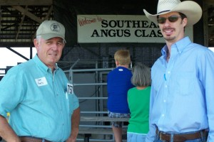 Dale Parris And Luke Mobley @ Southeast Angus Classic Spring 2011