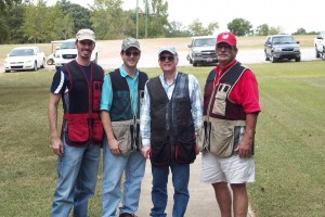 Luke, Glenn, Carroll & Paul Sporting Clays @ Meadows 9/24/10