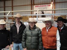 Black Crest Farms Angus Sale- David, Luke, Billy, Larry and Alix