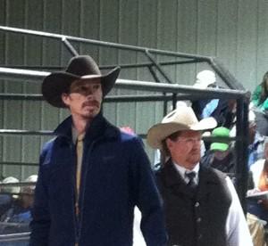 Luke Mobley and Steve Sellers @ Gibbs Ranch Sale 2013