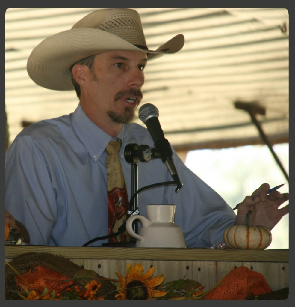 Luke Mobley Livestock Auctioneer